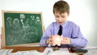 boy creates a business plan video