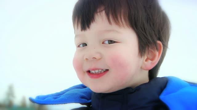 Boy Eats Snow (HD) video