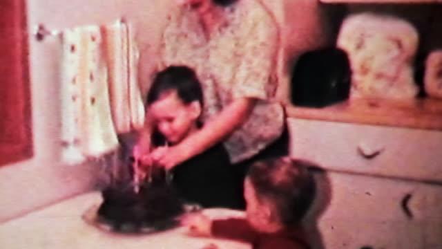 Boy Enjoying His Birthday-1966 Vintage 8mm film video