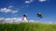 Boy Flies Kite video