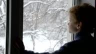 Boy in the Winter Window video