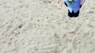 Boy on a swing video
