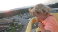 Boy On Ferris Wheel video