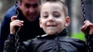 Boy on the swing video