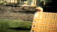 Boy Plays With His Grandmother (1963 - Vintage 8mm film) video