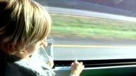 Boy Riding Bus video
