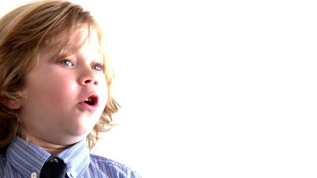 Boy sending A Kiss video