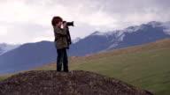 A Boy with a Big Camera video