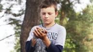 Boy with bird video