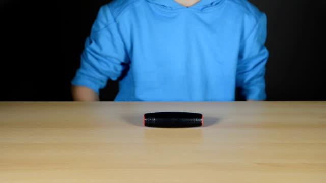 boy with fidget stick video