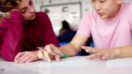 Boys Enjoying School Work video