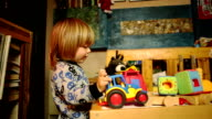 Boys Like Playing with Toy Trucks video