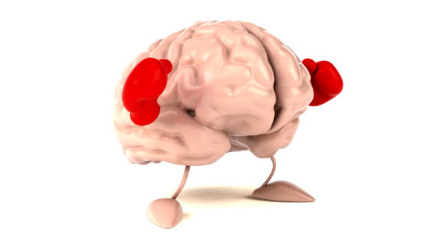 Brain boxing - 3D Animation video