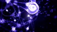 Communication de cerveau des lumières - Vidéo