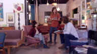 Brainstorming new furniture designs video