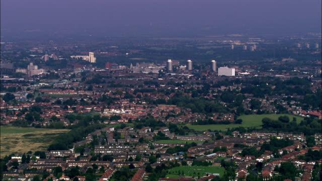 Bramall Hall, Stockport  - Aerial View - England, Stockport, United Kingdom video