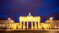 Brandenburg Gate, camera pan video