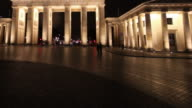 Brandenburg Gate Time lapse video video