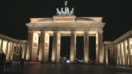 Brandenburg Gate Time lapse video video