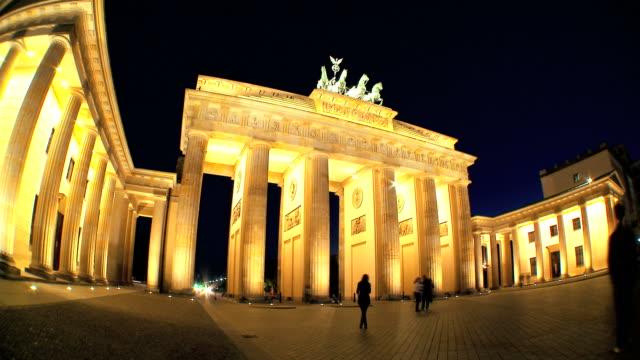 Brandenburg Gate Time-lapse video