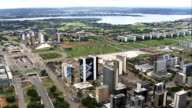 Brasilia In General Views  - Aerial View - Federal District, Brasília, Brazil video