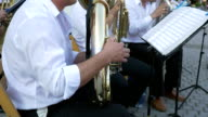 Brass Band Member Performing video