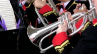 Brass band performing video
