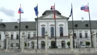 Bratislava House of President video