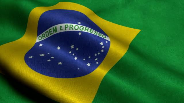 Brazil Flag video