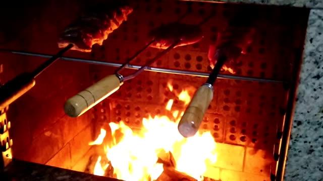 Brazilian barbecue video