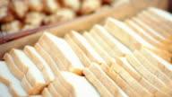 Bread and Bread Slices video