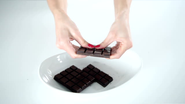 Break a chocolate bar video