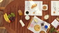 CRANE: Breakfast Table On The Terrace video