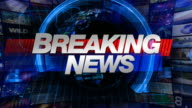 Breaking News - Broadcast Graphics Title video