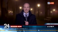 HD: Breaking News From Outdoor Location video