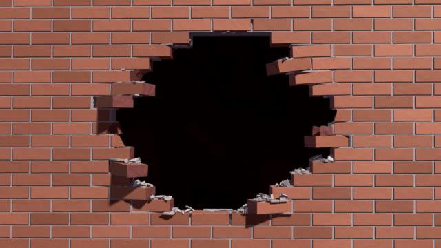 Breaking wall video