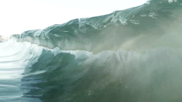breaking wave video