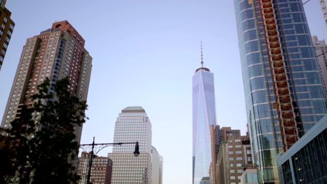 breathtaking view of modern city metropolis. flying over city. urban landmark cityscape view video