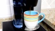 Brewing coffee video