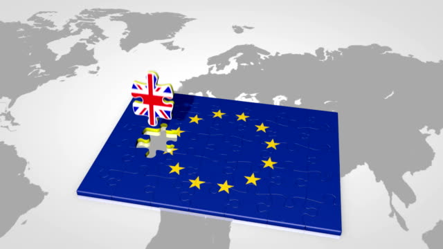 Brexit. United Kingdom leaving European Union video