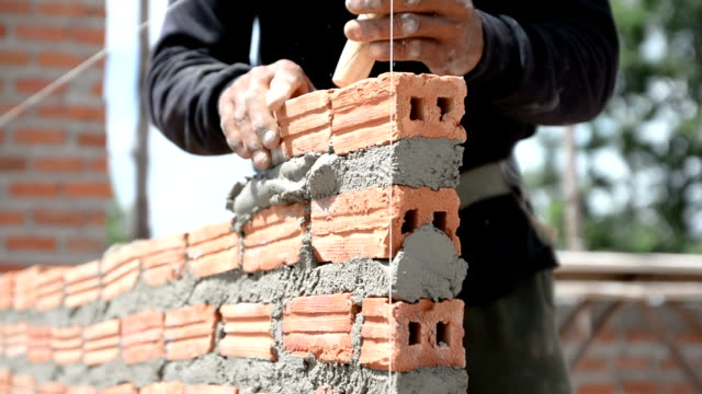 Brick installation video