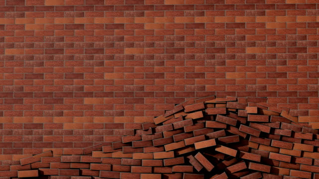 Brick Wall Crash Transition with Matte! video