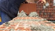 HD: Bricklaying video