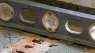 Brickwork, close-up video