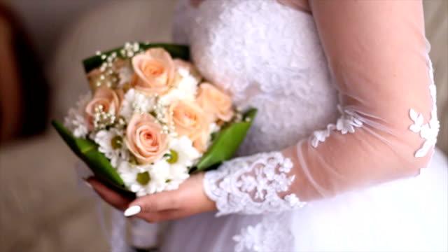 Bridal bouquet video