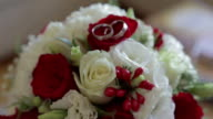 Bridal Bouquet with wedding rings video