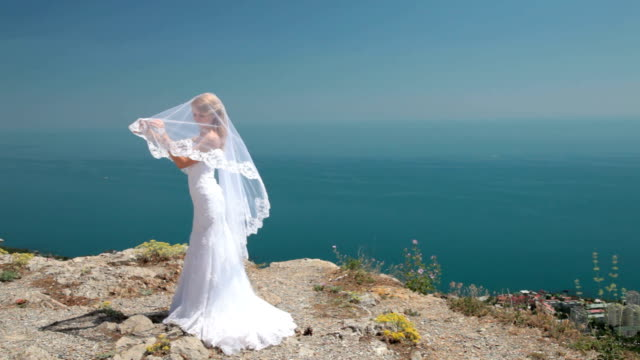 Bride against the sky video
