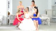 Bride and bridesmaids video