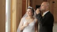 Bride and Groom Toast video