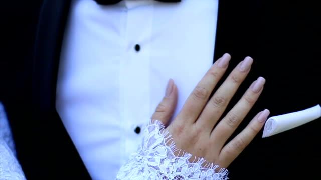 Bride hand video video